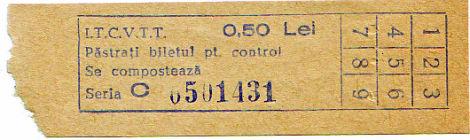 Bilet de transport în comun