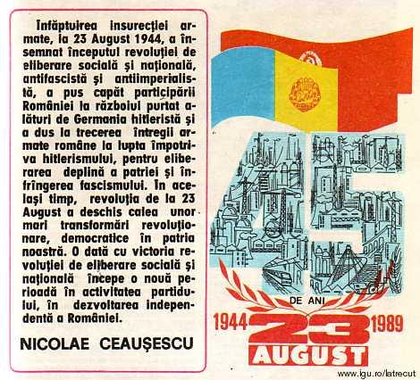 Din Scinteia 1989