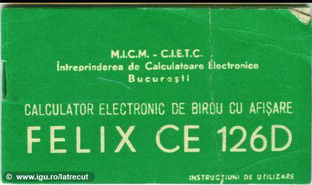 Calculator de birou FELIX