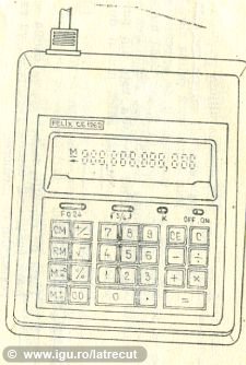 Calculator FELIX CE 126D + desen